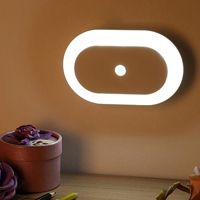 360 degree Side Luminescence Motion Sensor Activated Battery Operated LED Night Light