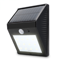 12LED Super Bright Solar Powered Wireless Outdoor PIR Motion Sensor Waterproof Garden Lamp